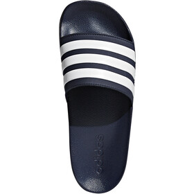 adidas Adilette Shower Chaussures Homme, collegiate navy/ftwr white/collegiate navy